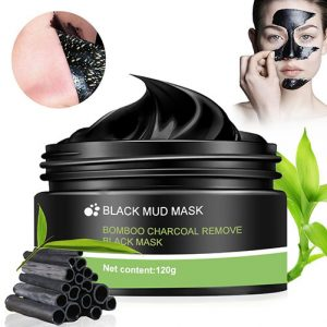 black mask mud