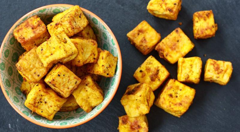 curcuma e zenzero tofu seitan pollo