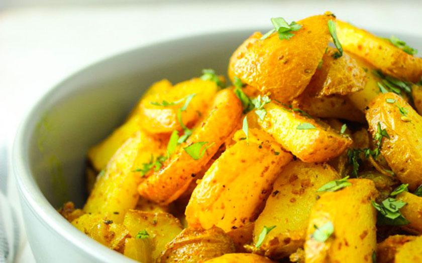 curcuma in cucina ricetta patate e curcuma
