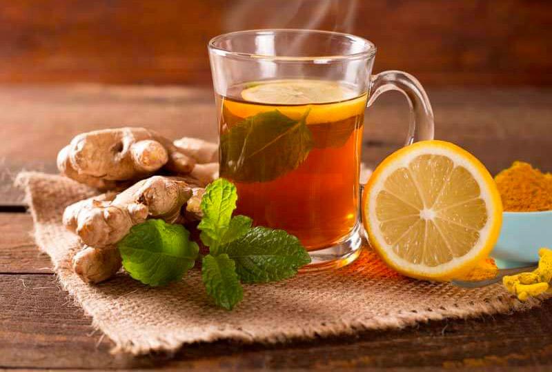 tisana alla curcuma e limone