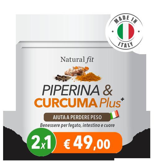 usare la curcuma piperina & curcuma plus