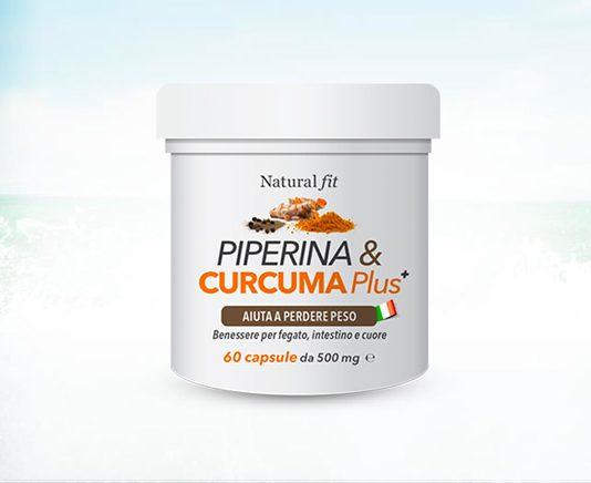 curcuma piperina migliore integratore naturale per dimagrire